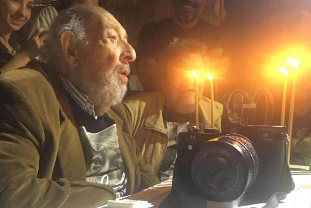 Kınalıada'da sürpriz kutlama! Ara Güler 90 yaşında! (Medyaradar/Özel)