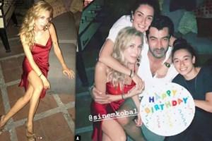 Kenan İmirzalıoğlu'ndan Sinem Kobal'a sürpriz doğum günü partisi!