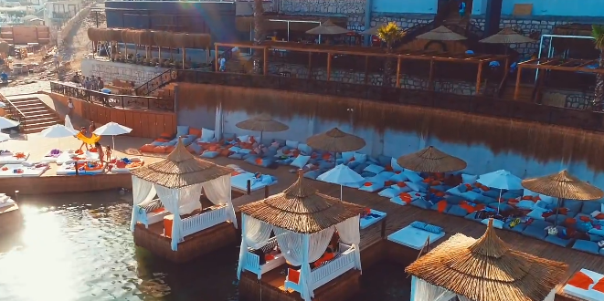 2018 Bodrum beach club giriş ücretleri