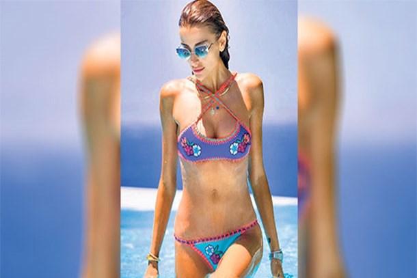 Özge Ulusoy: En beğendiğim yerim göbek deliğim