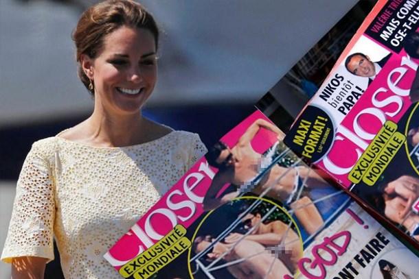 Kate Middleton'ın üstsüz fotoğraflarını yayınlayan dergiye büyük ceza!