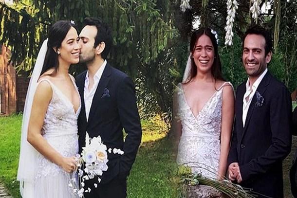 Ünlü oyuncu Buğra Gülsoy evlendi! İşte düğünden ilk kareler...