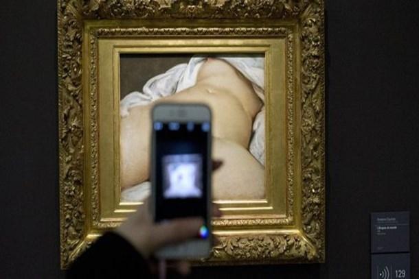 152 yıldır merak ediliyordu! 'Dünyanın Kökeni'ne poz veren model bulundu!